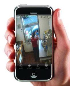 mobiltelefonos applikáció segítségével is megfigyelheti a helyiségeket