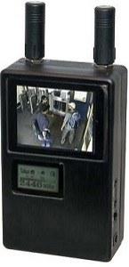 Rádiófrekvenciás kamera kereső detektor LCD megjelenítéssel