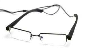 Szemüvegbe rejtett lehallgató kamera (poloska)